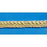 Ширит, златист, плетеница, 0.7 см