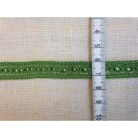 Ширит, зелен, синджир, 12 мм