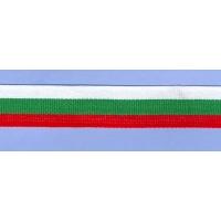 Трикольорна лента, 2 см.