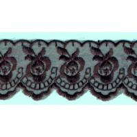 Дантела, черна, 4.5 см