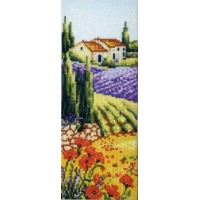 Пейзаж с полски цветя