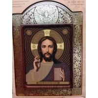 Христос Спасител, рамка