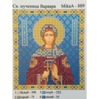 Св. Мъченица Варвара, MikaA-889