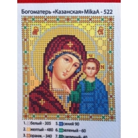 Казанска мадона, МикаА - 522