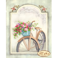 Винтадж велосипед