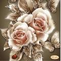 Карамелени рози