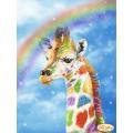Жираф и дъга