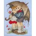 Деца под дъжда
