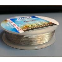 Метализиран конец Allure, сребро, No:100-03