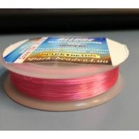 Метализиран конец Allure, розов цвят, No: 100-08