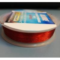Метализиран конец Allure, червен цвят, No: 100-10