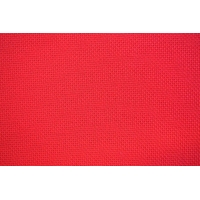 Панама Aida/16ct с цвят - червено