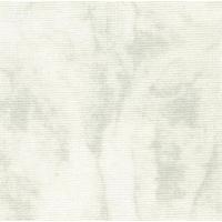 Панама Vintage Lugana, 25 ct, цвят - бяло и сиво меланж