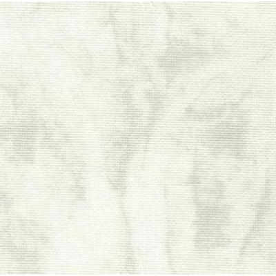Парче, панама, 25 ct./ бяло и сиво меланж