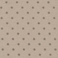 """Панама Murano Lugana """"Petit Point"""", цвят  - тъмно екрю на кафяви точки, 32 ct"""
